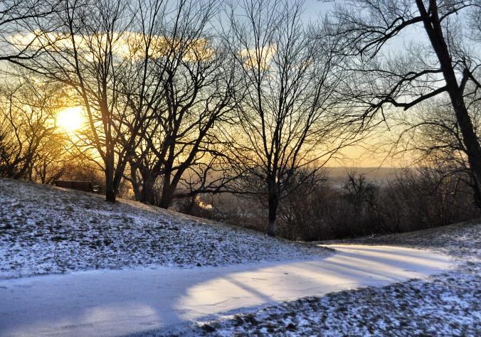 Sunrise at Higland Park