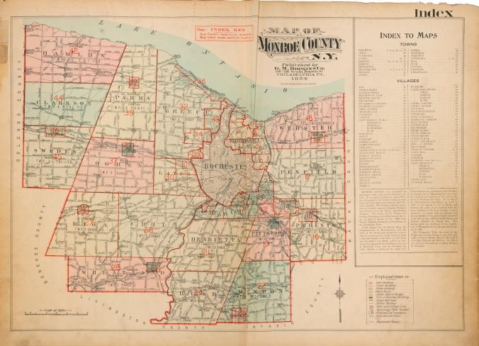Monroe County 1920